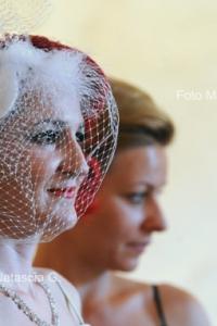 Sposa alla cerimonia